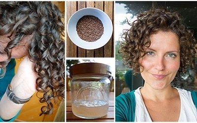 Leinsamengel – Das natürlichste und günstigste Haargel für deine Locken.