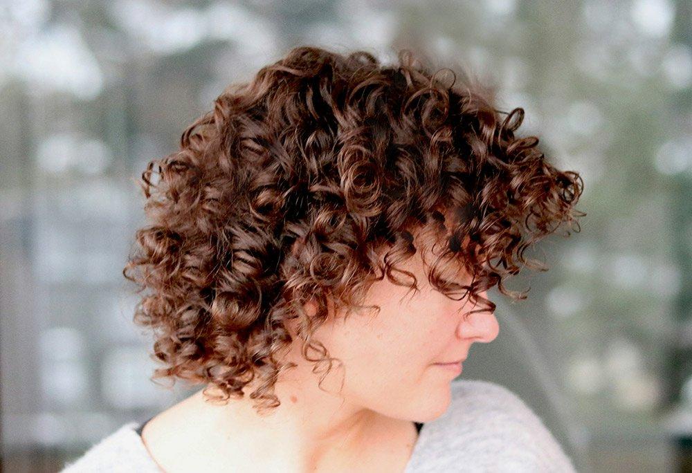 Lange haare ansatz glatt