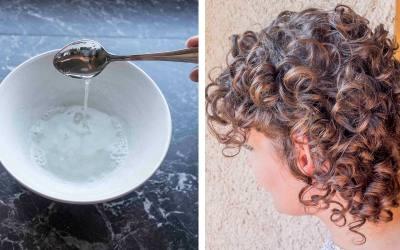 DIY Protein Haarkur um kaputte & poröse Locken wieder zu beleben.