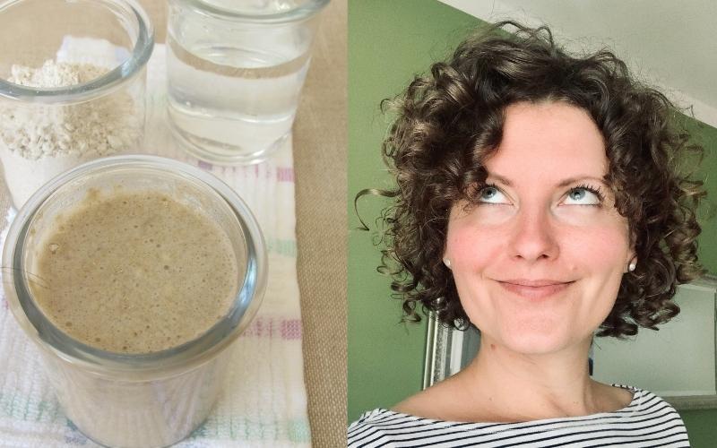 Haare waschen mit Roggenmehl für Locken geeignet